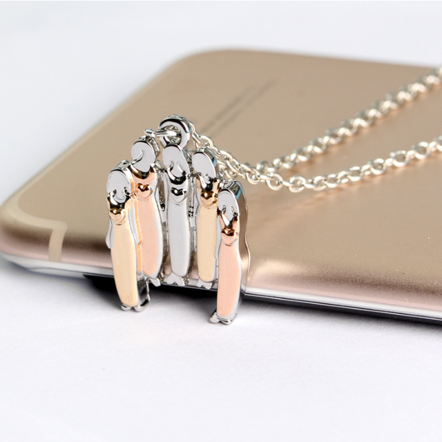 2017 New Gold Color Good Friend 20 Chain Pendant Best Friends Birthday Gifts Sister Friendship M Necklace