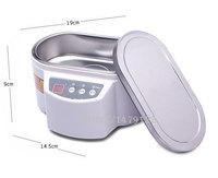 Mini Ultrasonic Cleaner for Jewelry Glasses Circuit Board Dental Bath Electric Makeup Brush Cleaner 30W/50W 110V/220V