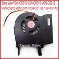Новый вентилятор охлаждения для ноутбука Sony Vaio, 5 в пост. Тока, MCF-C29BM05, VGN-CS110E, VGN-CS11S, VGN-CS31S, VGN-CS31S, VGN-CS21Z, VGN-CS21S
