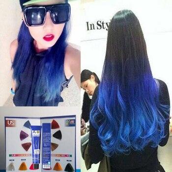 VIKADA Harajuku Hair Color 3D Bright Color Dyeing Gradient Gradient Color Gradient Paste 100G фото