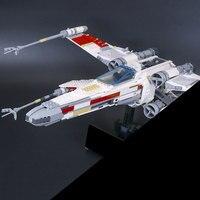 Lepin 05039 1616pcs Star War Series UCS Rebel Red Five X Wing Starfighter Set Building Blocks