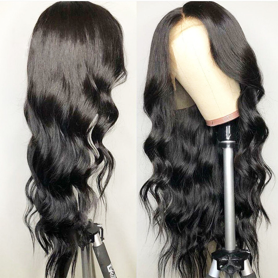 13x6 Lace Front Wig Pre Plucked With Baby Hair Brazilian Body Wave Lace Front Human Hair