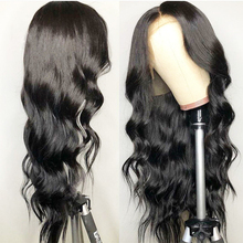 13x6 Lace Front Wig Pre Plucked With Baby Hair Brazilian Body Wave Human Wigs Remy