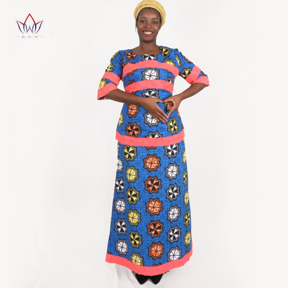 8d7d73411d Good African Traditional Women Clothing 2 Pieces Set Women Dashiki Dresses  African Long Skirt   Crop Tops Plus Size 6XL BRW WY049 offers where can We  ...