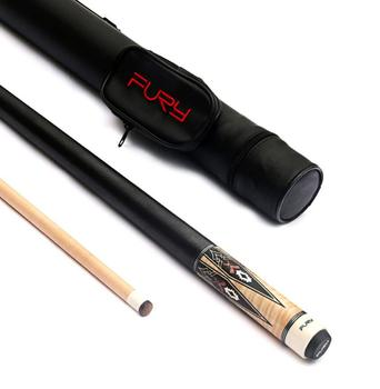 New Fury Billiard Pool Cue Stick 11.75mm 12.75mm Tip with Pool Cue Case Set Professional Billiard Kit  Offer Combination 2019
