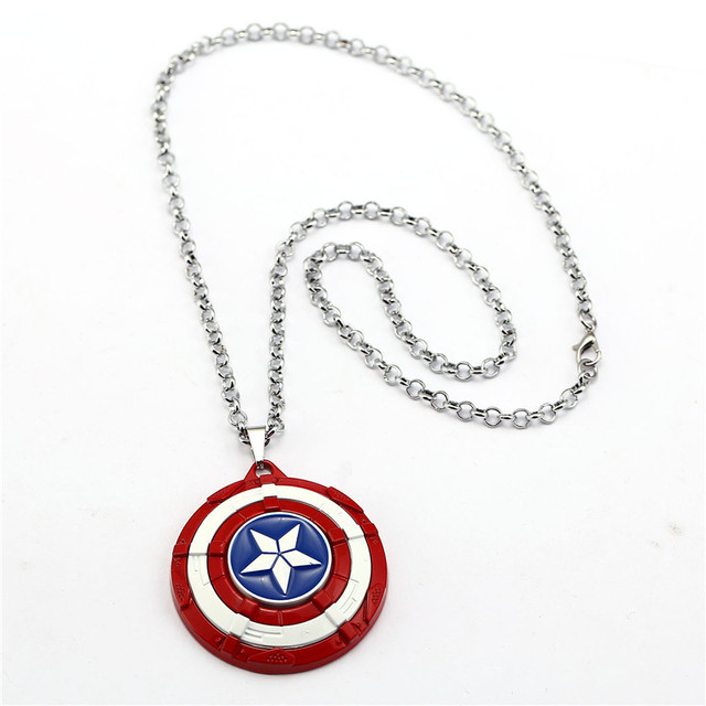 Captain America Shield Necklace 5