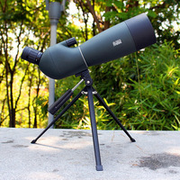 Spotting Scope SV28 Telescope Zoom 25 75X 70mm Waterproof Birdwatch Hunting Monocular & Universal Phone Adapter Mount