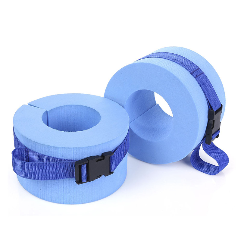 New Paired EPS Foam Water Exercise Aerobics Swimming Weights Aquatic Cuffs For Ankles Arms Swimming Accessories