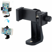 Мини-штатив для телефона с поворотом на 360 градусов, держатель для штатива, подставка для сотового телефона, кронштейн с зажимом, адаптер для iphone