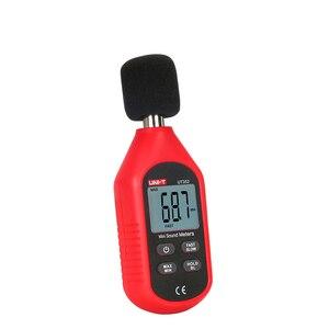 Image 5 - UNI T ut353 instrumento de medição ruído db medidor 30 130130db mini áudio medidor nível som decibel monitor