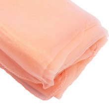Peach colour 10M*1.35M Organza Swag  Fabric