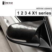 for BMW replacement carbon fiber wing rearview door mirror covers for 1 2 3 4 x1 f20 f22 f30 gt f34 f32 f33 f36 m2 f87 E84