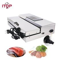ITOP לשימוש ביתי מזון אוטם ואקום מכונת אריזת 30cm אורך חצי אוטומטי חשמלי ואקום חומרי איטום מזון מעבדי
