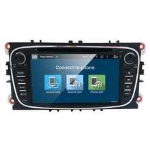 2 Din 7 Inch Android 5.1 Car DVD Player For FORD Mondeo Focus Galaxy GPS Navigation In Dash Stereo Radio Audio DAB+ 1080P