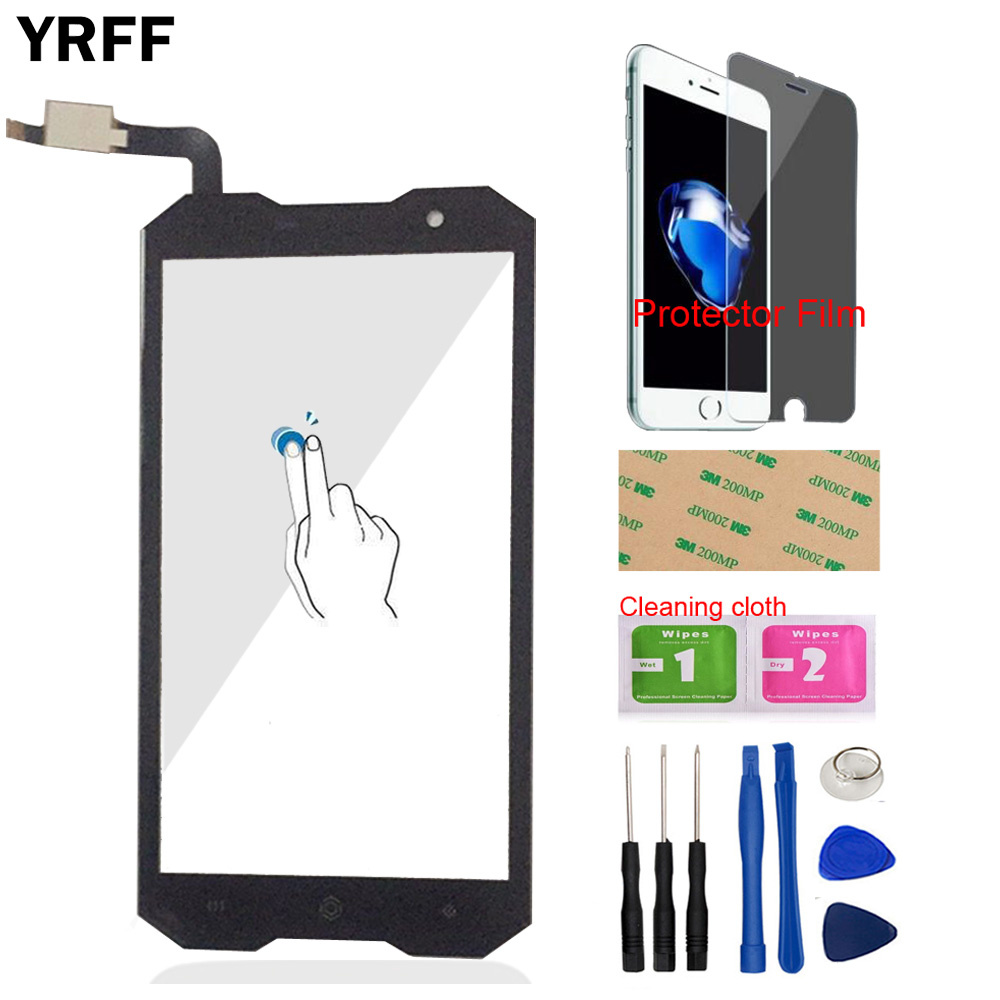YRFF Mobile TouchScreen Touch Screen For Homtom Zoji Z8 Touch Screen Digitizer Sensor Front Glass Panel Sensor Protector Film