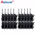 20pcs Cheap Walkie Talkie Retevis H777 3W UHF 400-470MHz Handheld Hf Transceiver Portable Radio Set Ham Radio Communication Tool