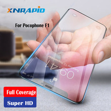 Glass For Pocophone F1 Tempered Full Cover 9H  Premium Screen Protector Xiaomi Poco