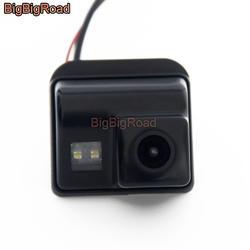 BigBigRoad заднего вида резервного копирования Камера для Mazda CX-5 CX 5 CX5 2015 2016 2017 Oiginal завод Экран с 28 контакты адаптера