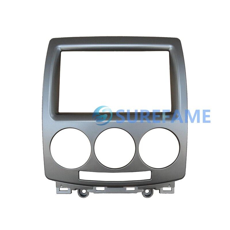 Double Din Head Unit Cage Fascia Facia Adaptor Panel Surround Stereo 103mm