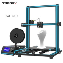 Shipping from US Tronxy X3S DIY desktop 3D printer 300*300*400 mm printing size with hotbed full metal