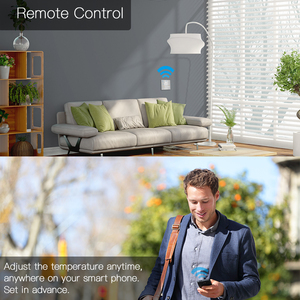 Image 4 - WiFi Smart Thermostat Temperature Controller for Water/Electric floor Heating Water/Gas Boiler Works with Alexa Google Home