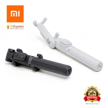 Original Xiaomi Foldable Tripod Selfie Stick Bluetooth Selfiestick With Wireless Shutter Selfie Stick for iPhone Android