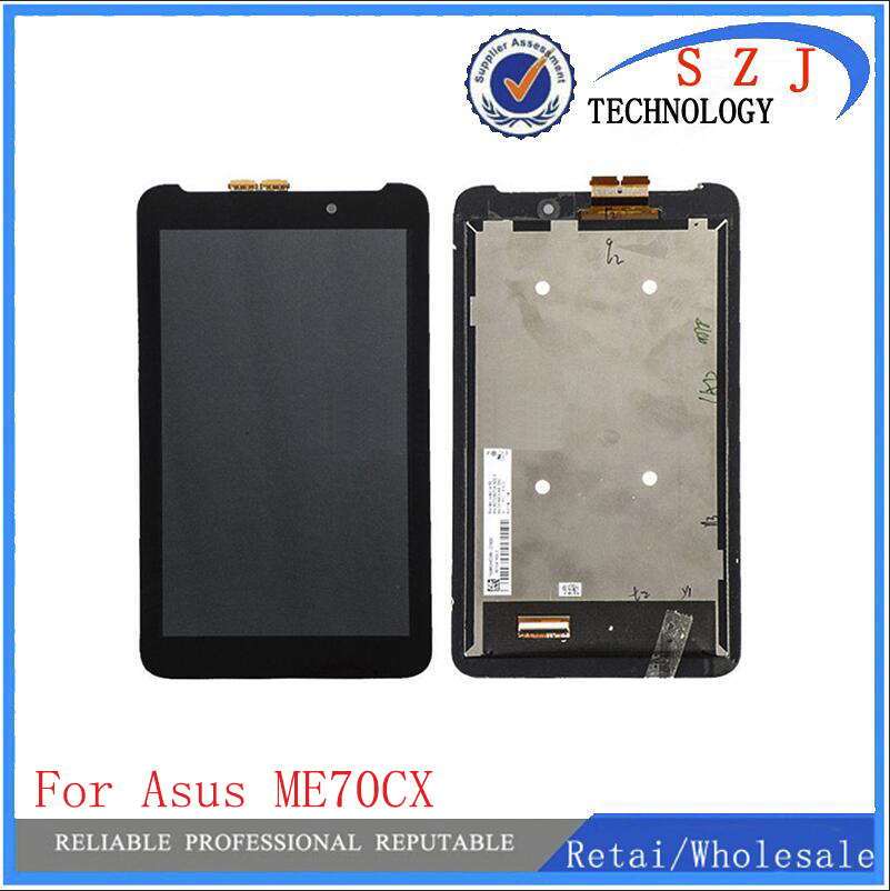 New 7'' inch case For Asus Memo Pad 7 ME170 K012 ME70CX 5581L LCD Screen Display + Digitizer Touch Assembly Free Shipping frame used parts lcd display monitor touch screen panel digitizer assembly frame for asus memo pad smart me301 me301t k001 tf301t