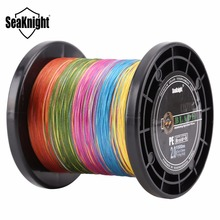 SeaKnight BLADE 8 Strands Multicolor 500M 1000M Strong PE Braided Fishing Line Multifilament 20-100LB Saltwater Fishing Tackle