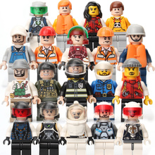 Compatible with legoe Amamzing colourful plastic toy mini constructing blocks for youths import favorable bricks good caliber