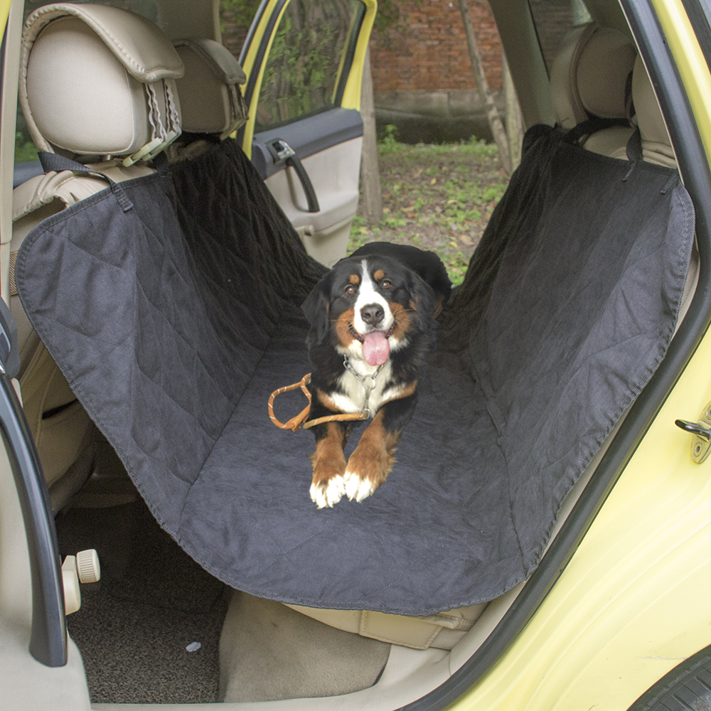 Dog Car Protector >> Us 26 3 Quilted Suede Fabric Pet Car Seat Cover For Safety Seat Pet Dog Car Protector Auto Travel Accessories Dog Back Seat Car Cover In Dog