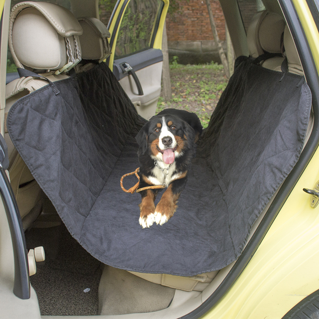 Dog Car Protector >> Quilted Suede Fabric Pet Car Seat Cover For Safety Seat Pet Dog Car