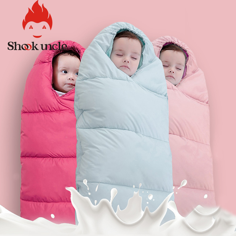 0-2 Years Baby Sleeping Bag Blanket Bed Swaddle Sleeping Bag Envelope Baby Winter Stroller Newborn Bedding Cute Wrap Sleep Sack
