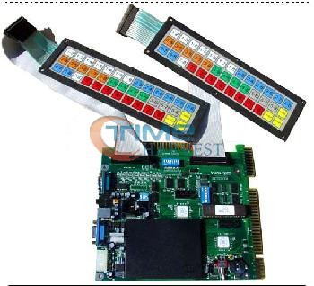 New version Jockey Club 5 with 2 keyboard/horse racing casino game board/slot game board for slot arcade game machine fast free ship for gameduino for arduino game vga game development board fpga with serial port verilog code