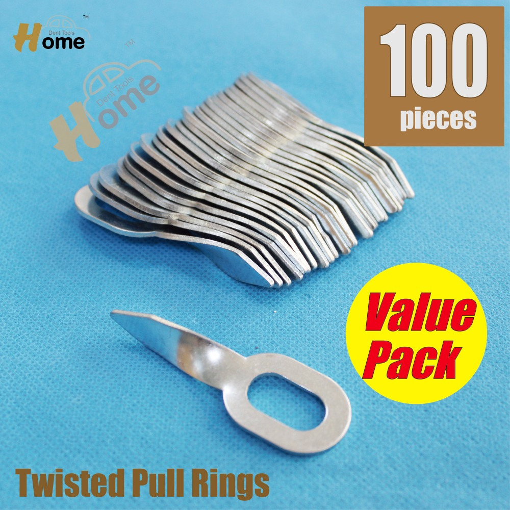 Twisted Pull Rings 100pc - Dent pulling welding consumables  WTR-100  цены