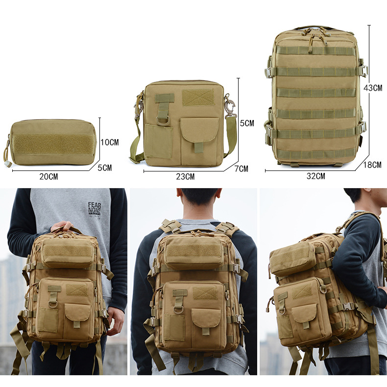 900D Molle Tactical Rucksack Military Bag Pack for Gym Trekking Hunting Hiking