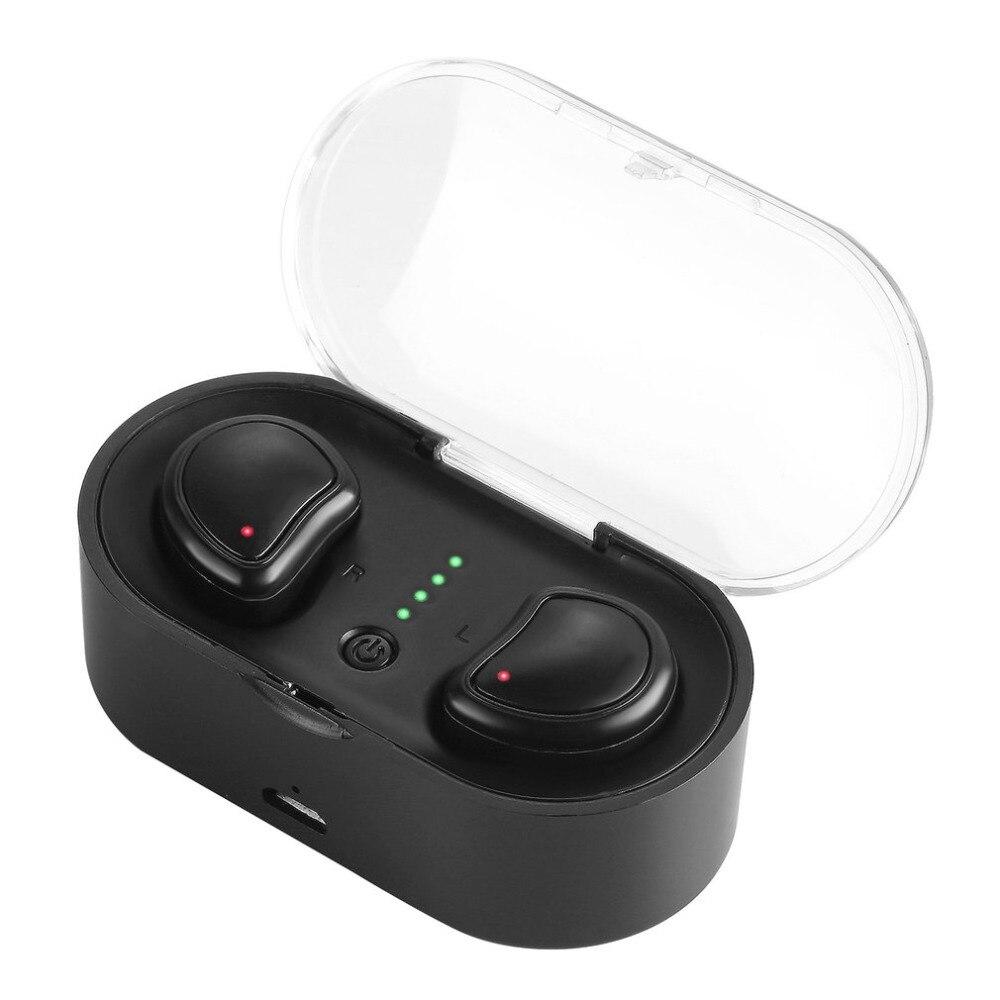 TWS Mini Twins True Stereo Bluetooth Earphone Headphones Headset Wireless Bluetooth Handfree Dual Stereo Earbuds mini twins true stereo bluetooth earphone headphones headset tws wireless bluetooth handfree earbuds with charge box for iphone7