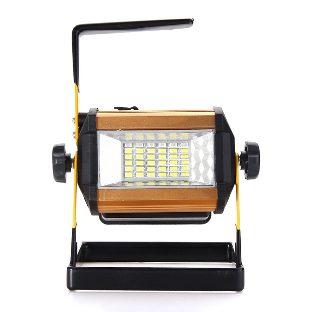 Led Floodlight 50w Flood Light Outdoor Portable Camping Work Spot Fishing Lamp Cycling Ip65