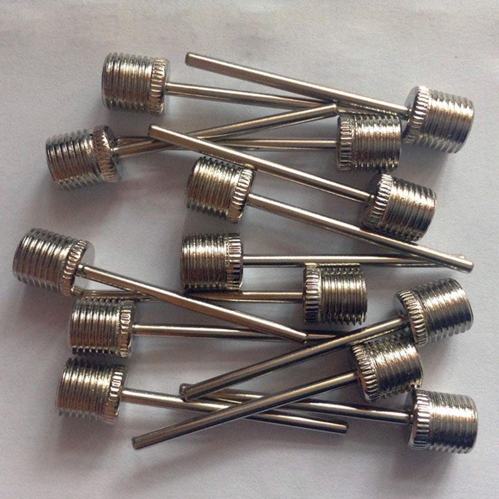 10pcs //set Sports Inflating Needle Pin Nozzle Football Basketball air Pump Hot