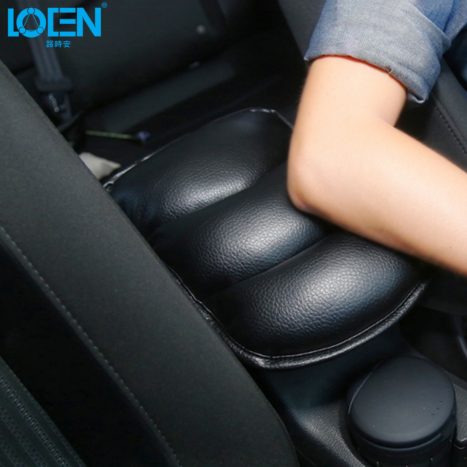 цена на Hot Sale Car Auto Armrests Cover Vehicle Center Console Arm Rest Seat Box Pad Protective Case Soft PU Mat Cushion Universal Use
