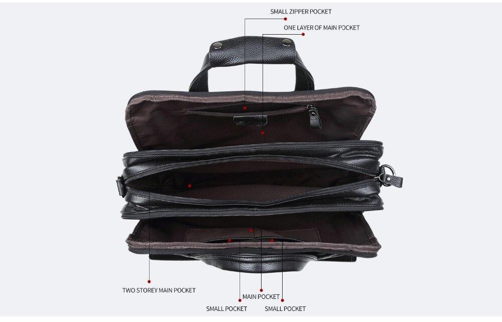 кожи, емкость, сумки, Honno 4