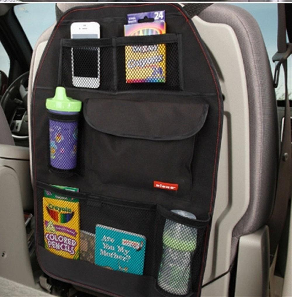 1PCS Waterproof Car Auto Multi Pocket Storage Bag Vehicle Car Seat Organizer Storage Bag For Book
