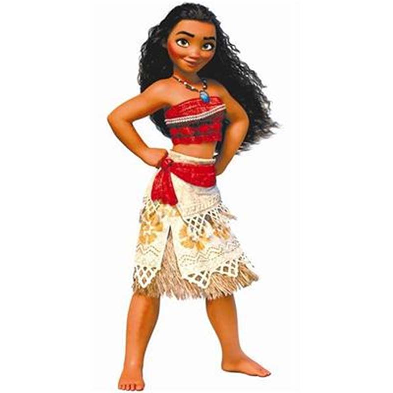 Moana Princess Dress+Necklace Marine Romance Cosplay Clothing Adult Kids Halloween Party Cos Clothes Movie Moana Skirt Costume