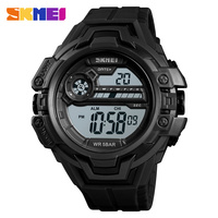 SKMEI Watch Men Digital Outdoor Sports LED Display Sports Military Hour Chronograph Fashion Retro Wristwatch Relogio
