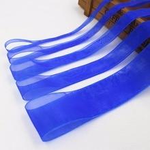 Hs040, (6,10, 15,20, 25,38 мм) 10yard/lot синий муслин Ленты печатных Grosgrain Свадебные аксессуары DIY материалы ручной работы подарок