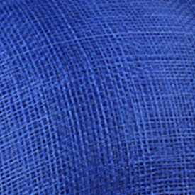 Элегантные шляпки из соломки синамей с вуалеткой хорошее Свадебные шляпы высокого качества черного цвета Клубная кепка очень хорошее 17 цветов MSF099 - Цвет: Синий