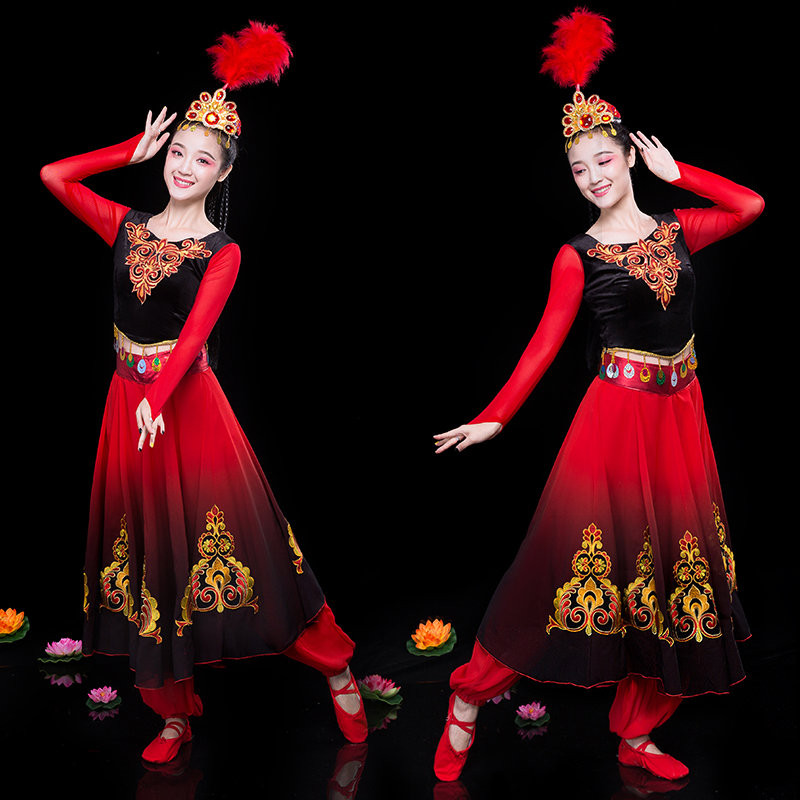 024be6535164 Detail Feedback Questions about Xinjiang dance costumes female adult ...