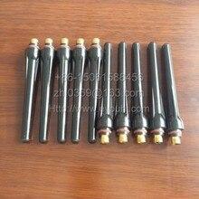 10 шт. длинная задняя крышка(57Y02) TIG часть-сварочный аппарат аксессуары для WP17 WP26 WP18 фонарь