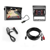 5 HD Car Rear View Monitor Reversing Color LCD TFT Display Screen for Truck Bus with Vehicle Backup Rearview Camera