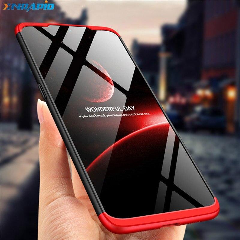 For OPPO Phone Case Full Protection 3 IN 1 Ultra Slim Matte Hard PC Back Cover For OPPO Realme 3 Case Shockproof