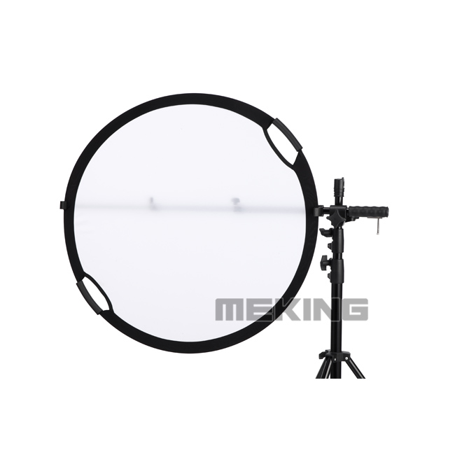 ФОТО photographic Reflector Holder stand handle pole Arm with Clip cramp stable for photographic reflectors accessory
